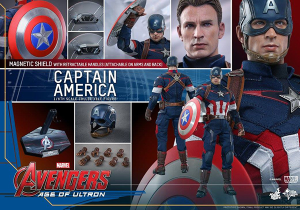 Preview   Hot Toys: Captain America (Age of Ultron) (16)