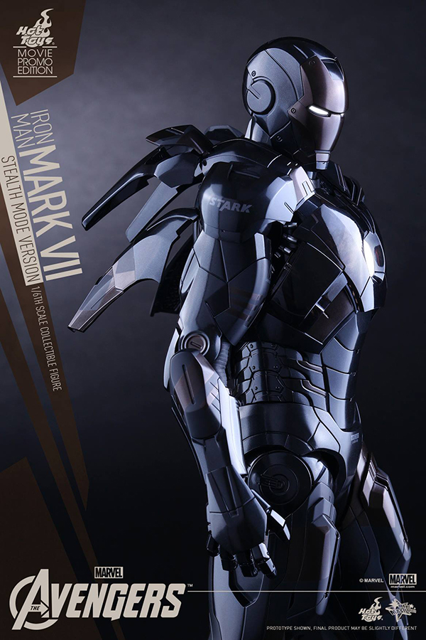 Preview | Hot Toys: Iron Man Mark VII (Stealth Mode Version) (18)