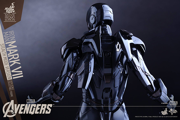 Preview | Hot Toys: Iron Man Mark VII (Stealth Mode Version) (19)