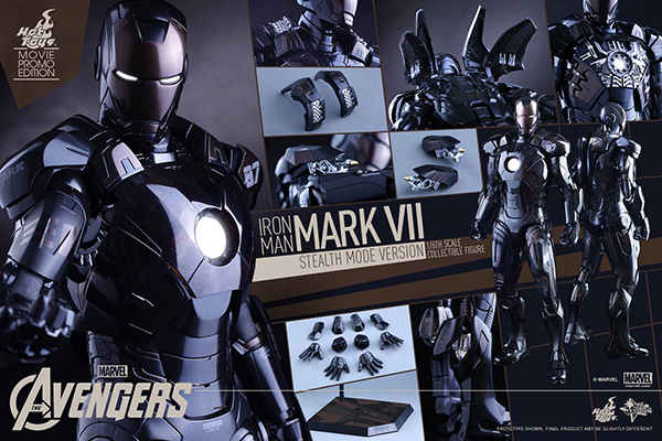 Preview | Hot Toys: Iron Man Mark VII (Stealth Mode Version) (20)