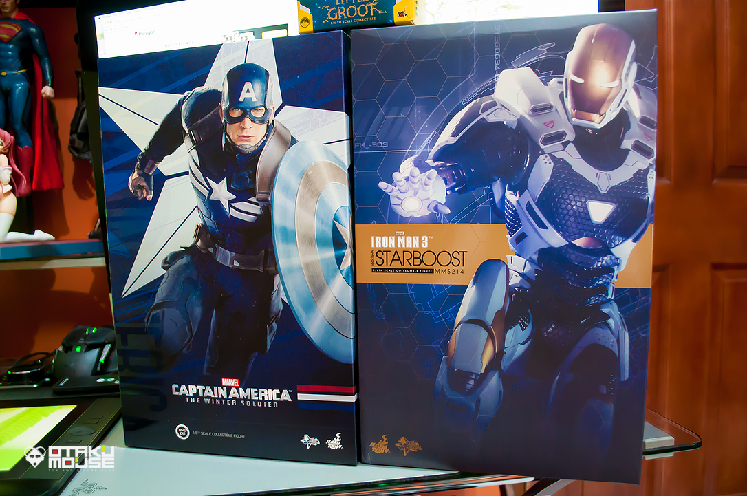 June 2015 Loot Report - Hot Toys Captain America (Strike Suit) & Iron Man (Starboost) (2)