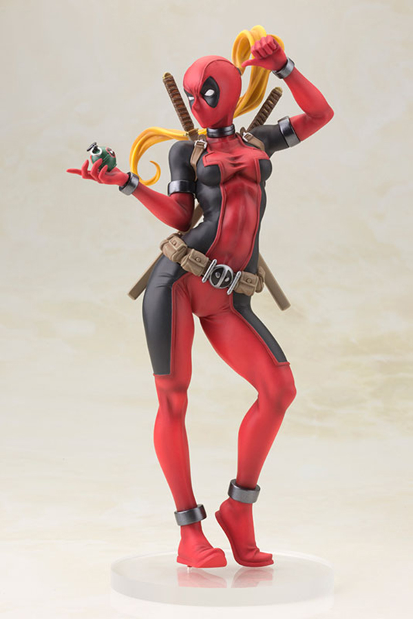 Preview | Kotobukiya: Lady Deadpool (5)