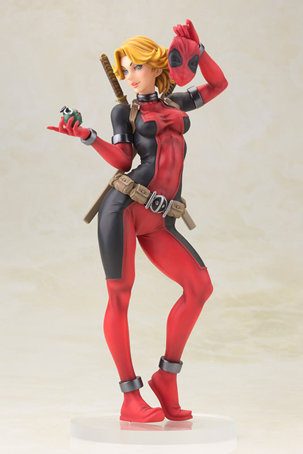 Preview | Kotobukiya: Lady Deadpool (9)