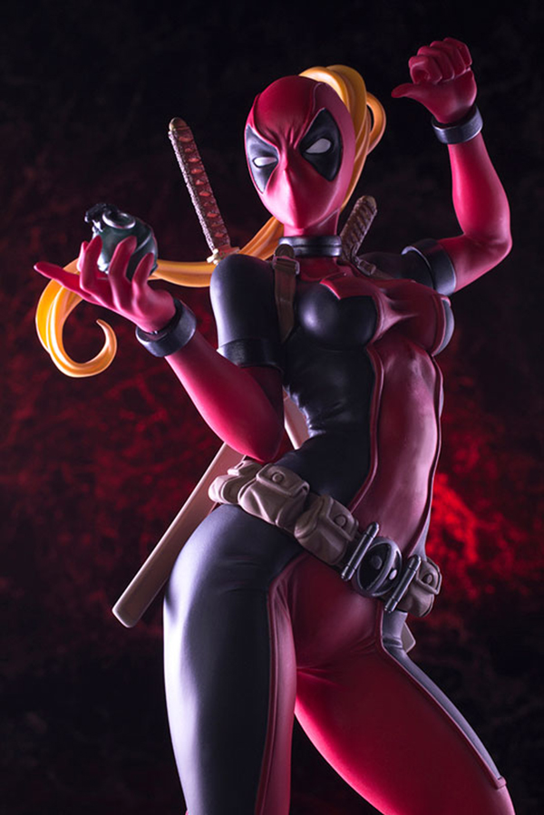 Preview | Kotobukiya: Lady Deadpool (15)