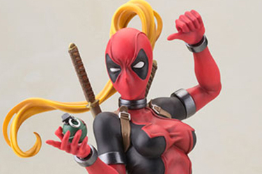 Preview | Kotobukiya: Lady Deadpool (17)