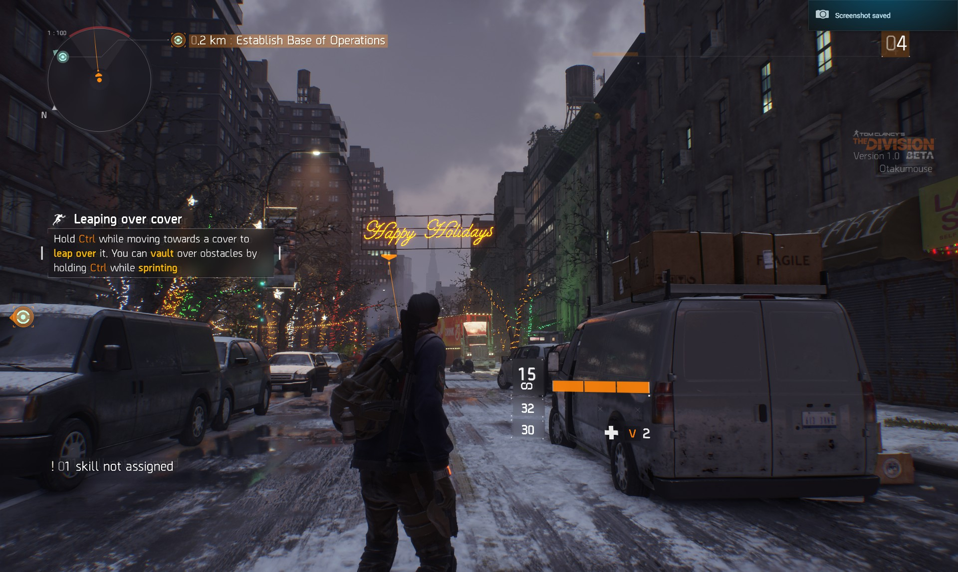 My Experience With The Division Beta (Ultra Settings) (2)