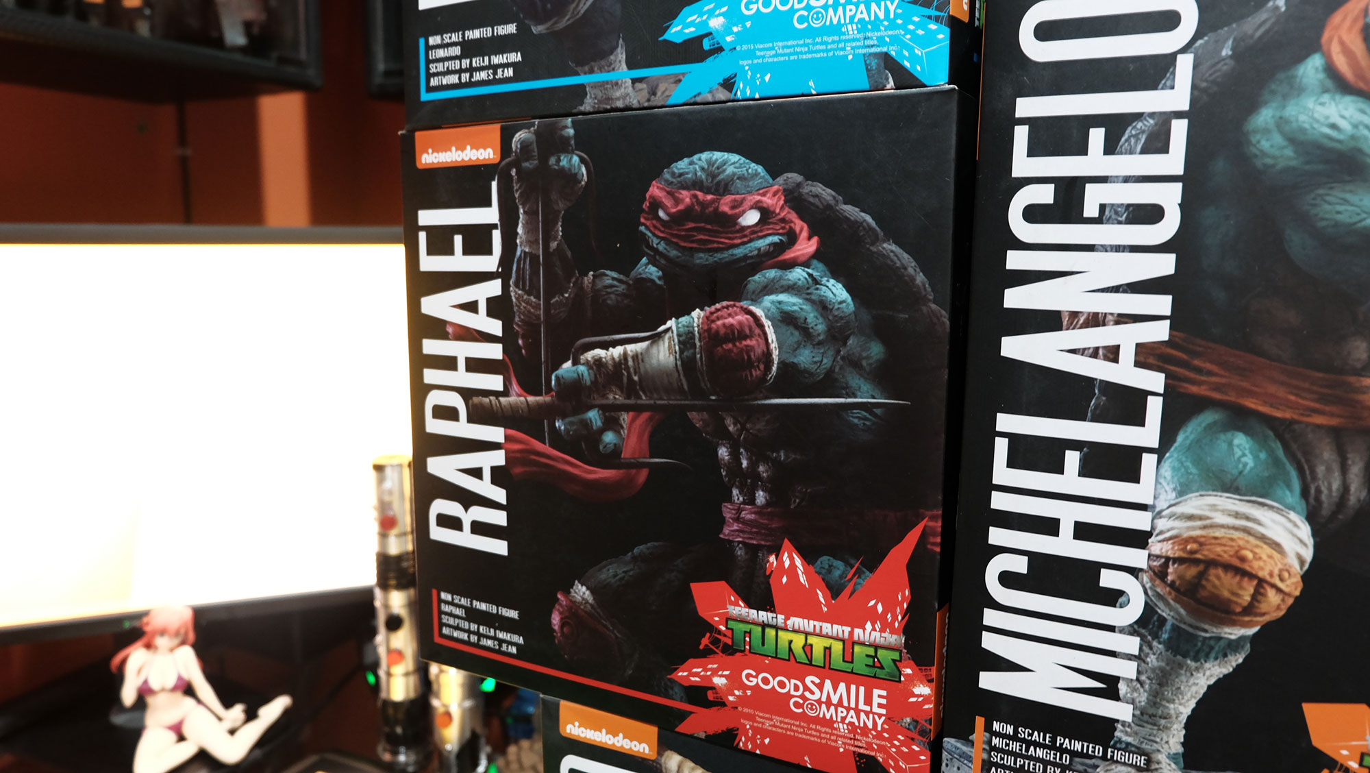 GSC's James Jean TMNT Set (4)
