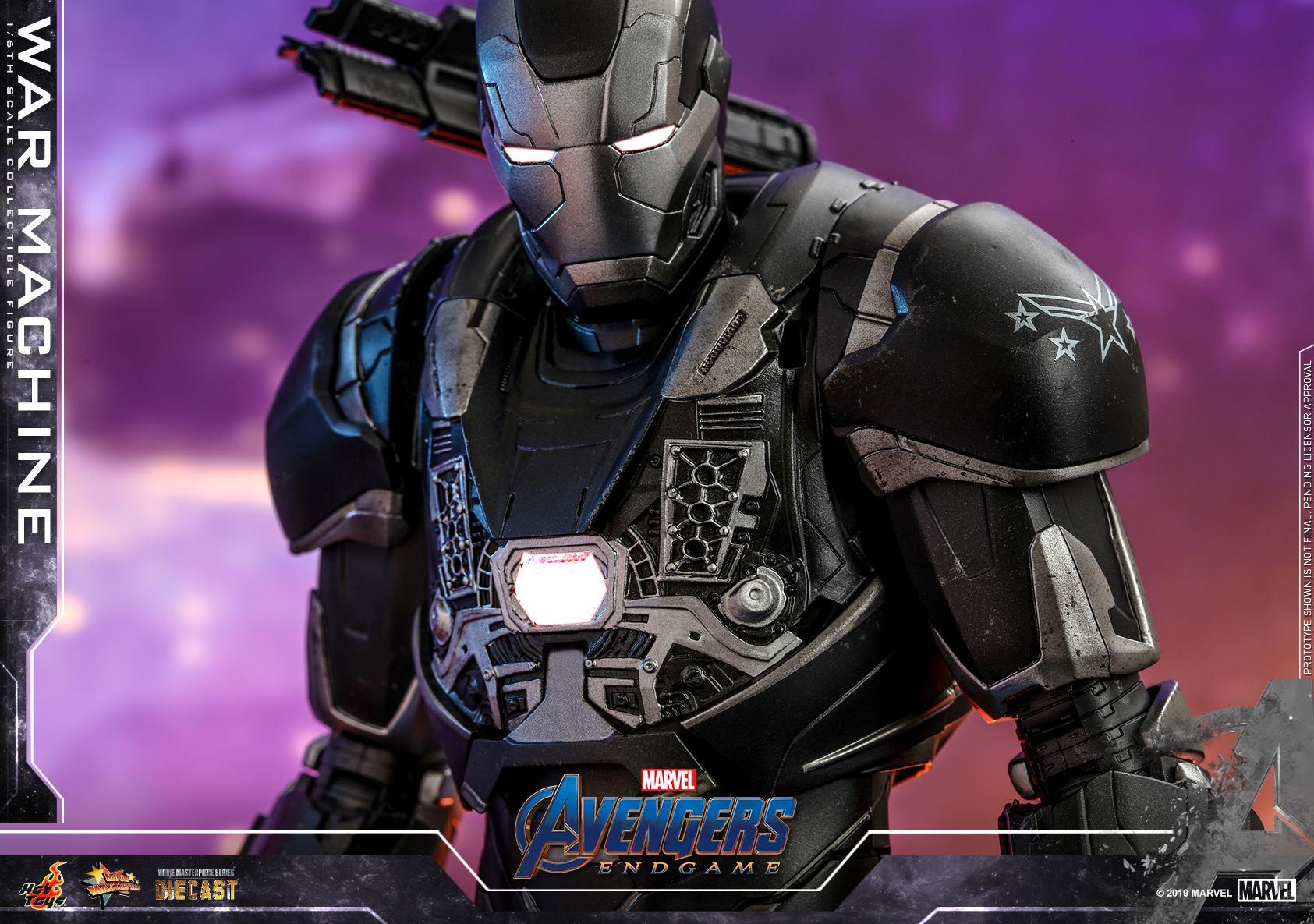 Hot Toys 1/6 War Machine (Avengers: Endgame)