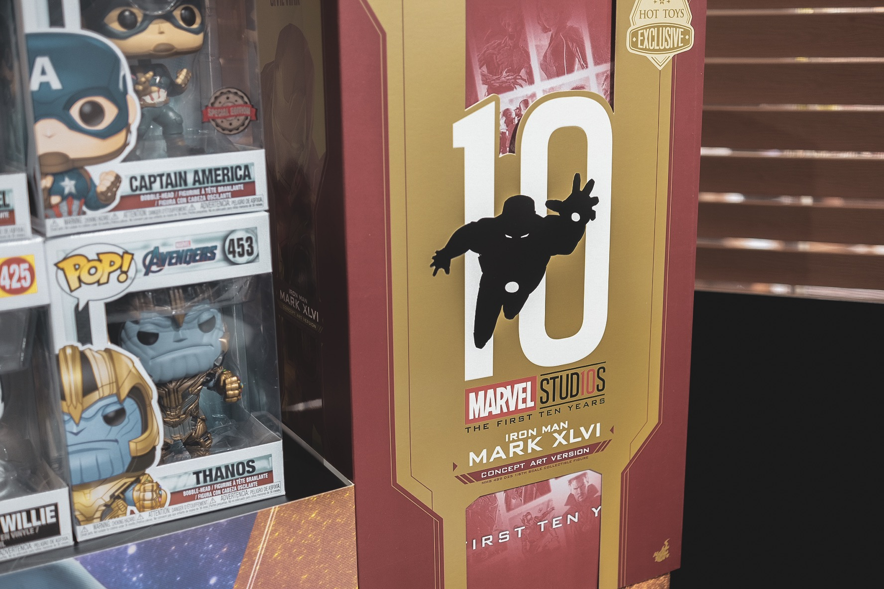 New Figures! Infinity War Thanos, Dr. Strange, and Marvel's First 10 Years Iron Man