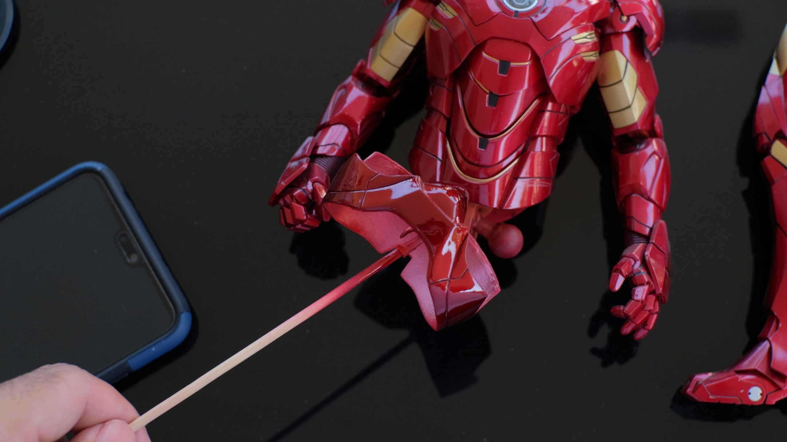 How to fix HT's Iron Man pink panty issue 45